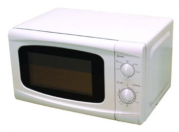 * Leisurewize White Camping Motorhome 700W 20L Low Wattage Cooking Microwave Oven